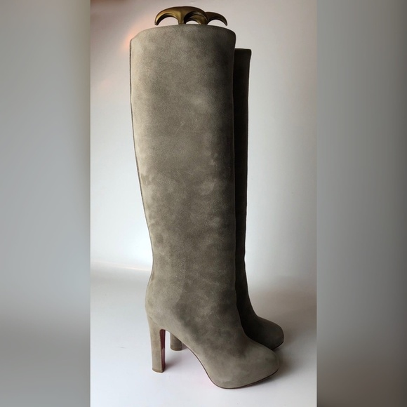 8f67339af74 Christian Louboutin Vicky Botta Suede Boots 35